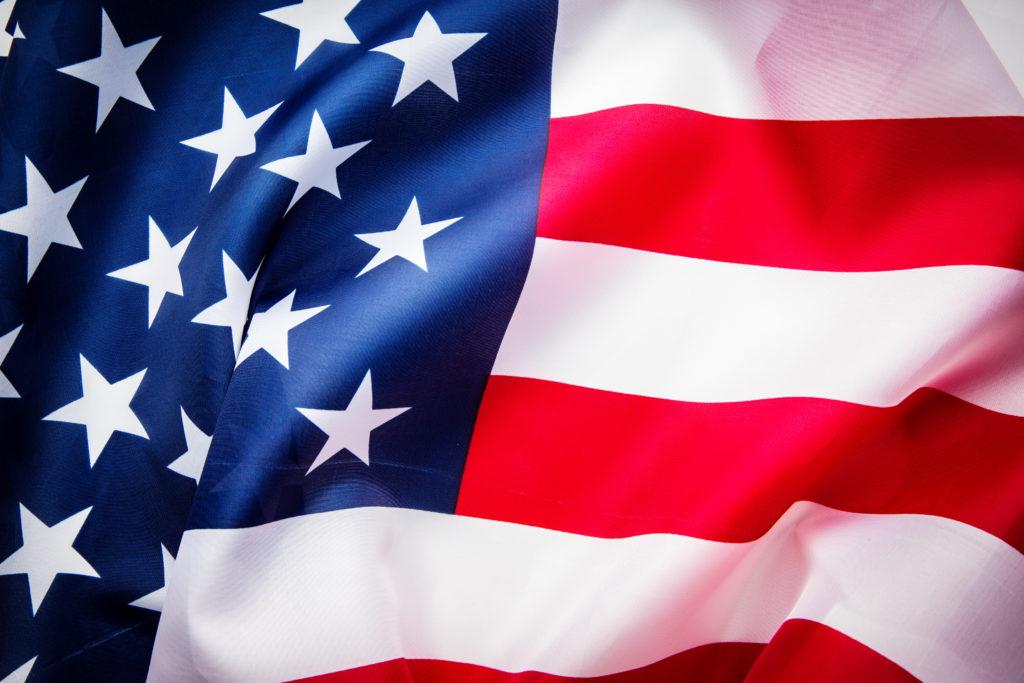 תרגום לאנגלית בתמונה: רקע דגל ארה
